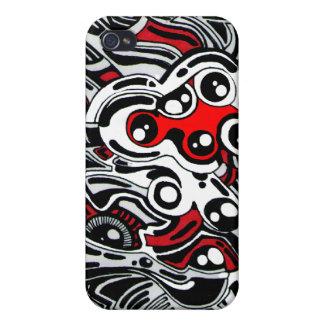 Diseño por Gary Sher nuevo lanzamiento para 2012 iPhone 4 Cobertura