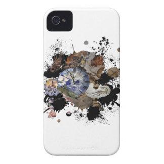 Diseño prehistórico del tiempo iPhone 4 carcasa