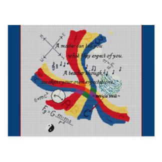 Diseño PRINCIPAL del tributo del profesor del Tarjetas Postales