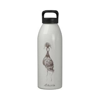 Diseño principal encogido botella de beber