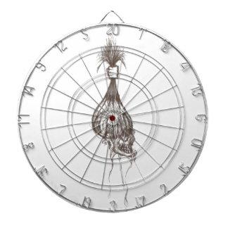 Diseño principal encogido tabla dardos