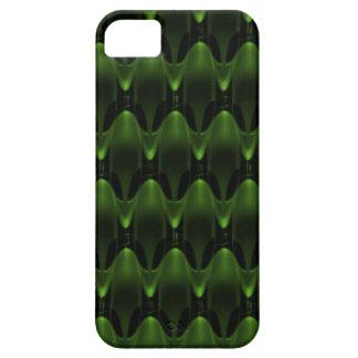 Diseño principal extranjero verde de neón iPhone 5 Case-Mate fundas