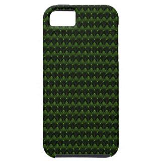 Diseño principal extranjero verde de neón iPhone 5 Case-Mate carcasa