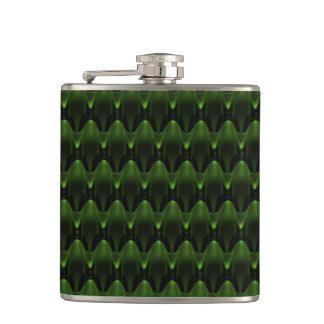 Diseño principal extranjero verde de neón grande