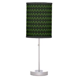 Diseño principal extranjero verde de neón