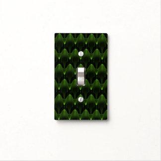 Diseño principal extranjero verde de neón tapas para interruptores