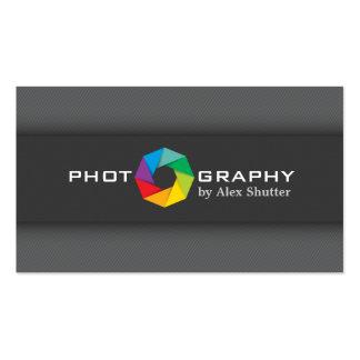 Diseño profesional de la tarjeta de visita de la
