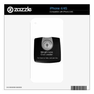 Diseño promocional para los coches de la pérdida calcomanía para iPhone 4