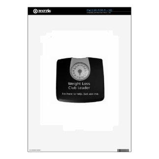 Diseño promocional para los coches de la pérdida iPad 2 skin