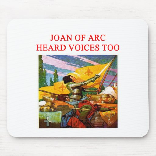 diseño psico de la voz de Juana de Arco Tapete De Ratones