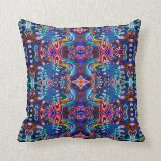 Diseño psicodélico R5K4A de la almohada del fracta
