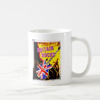 Diseño punky de las rocas de Gran Bretaña con la Taza Clásica
