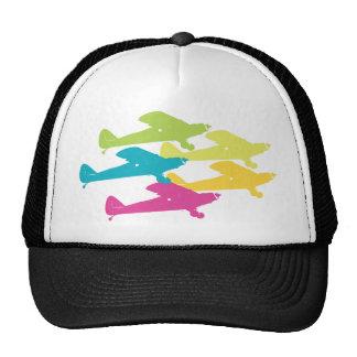 Diseño punky del avión del apoyo de los aeroplanos gorras