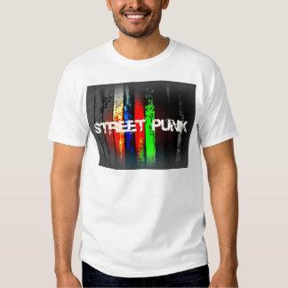 Diseño punky del logotipo de la calle playeras