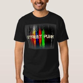 Diseño punky del logotipo de la calle poleras