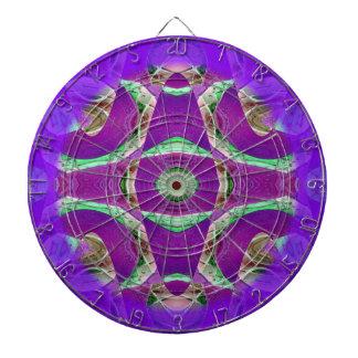 diseño púrpura brillante adornado