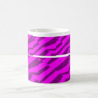 Diseño púrpura de cristal quebrado taza mágica