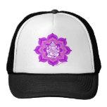 Diseño púrpura de Ganesh Gorro