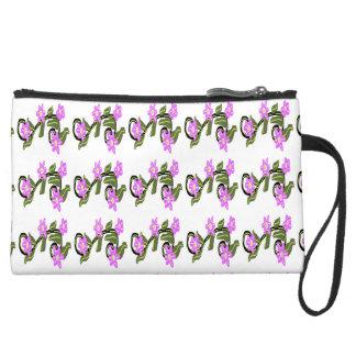 Diseño púrpura de las flores de Carola Tomlinson