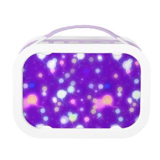 Diseño púrpura de los colores de los globos ligero