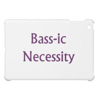 Diseño púrpura del bajista del texto de la necesid
