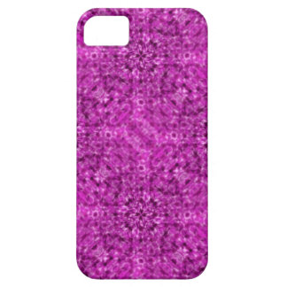Diseño púrpura del caleidoscopio del flujo iPhone 5 carcasas