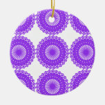 Diseño púrpura del cordón adorno de reyes
