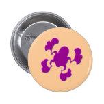 Diseño púrpura del Froggy Pins