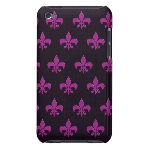 Diseño púrpura del lunar y de la forma iPod Case-Mate carcasa