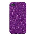 Diseño púrpura del modelo del arte gráfico de la c iPhone 4 cárcasa