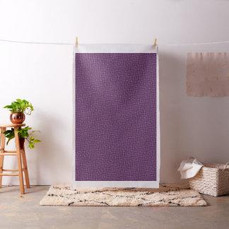 Diseño púrpura del mosaico tejado en tela