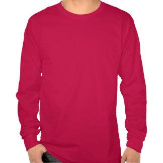 """Diseño púrpura del """"suéter feo del navidad"""" del camisetas"""