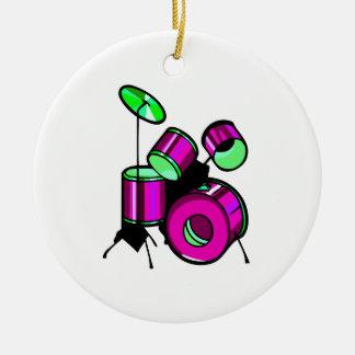 Diseño púrpura gráfico determinado de la imagen de ornamento de navidad