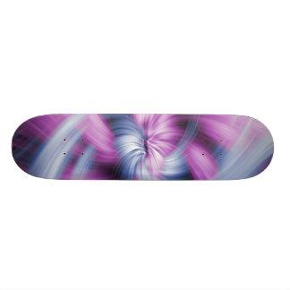 Diseño púrpura tablas de patinar