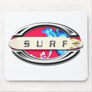 Diseño que practica surf