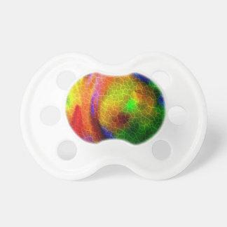 Diseño que remolina abstracto del espacio exterior chupetes para bebés