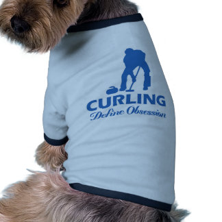 diseño que se encrespa camiseta con mangas para perro