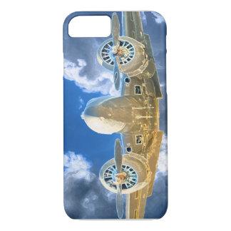 Diseño que vuela del modelo 18 de Beechcraft alto Funda iPhone 7