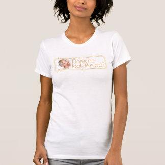 "Diseño querido punteado ""él"" camiseta playeras"