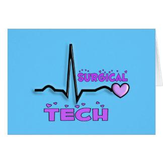 Diseño quirúrgico de los regalos QRS de la tecnolo Tarjetón