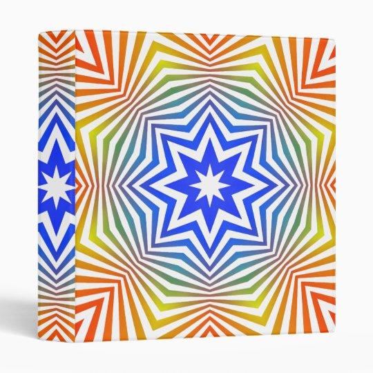 Diseño radial psicodélico: Carpeta de encargo