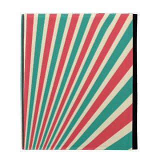 Diseño radiante rojo, verde, y grisáceo
