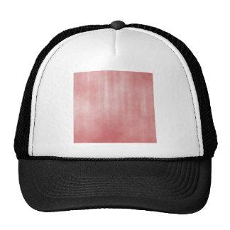 Diseño rayado rosado oscuro del Grunge Gorro De Camionero