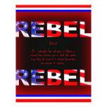 Diseño rebelde plantillas de membrete