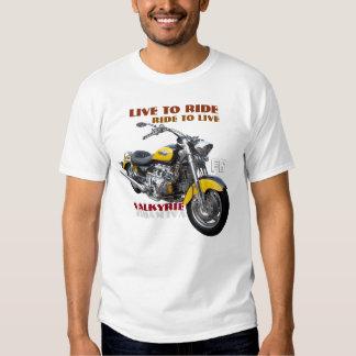 Diseño regular de la motocicleta de Valkyrie Playeras