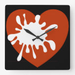 Diseño Reloj-Africano de la pared moderna de amor