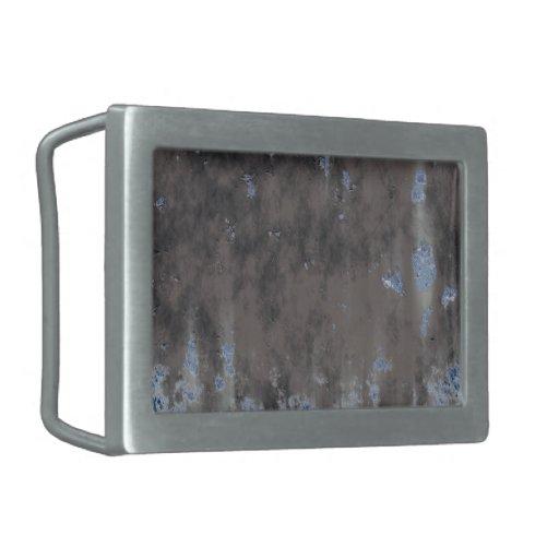 Diseño resistido de la piedra o del metal hebilla cinturón