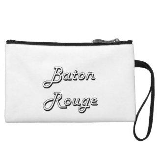 Diseño retro clásico de Baton Rouge Luisiana