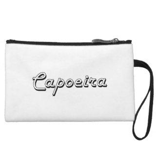 Diseño retro clásico de Capoeira