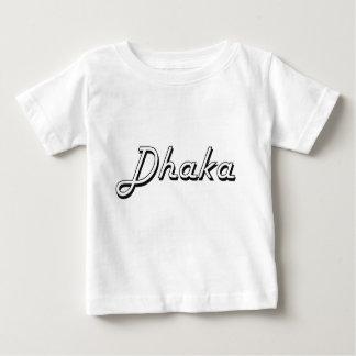 Diseño retro clásico de Dacca Bangladesh Playeras